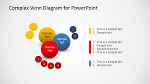 Complex Venn Diagram Design For Powerpoint Slidemodel Design For Powerpoint