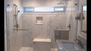 Modern Marble Bathroom Modern Marble Shower And Bathroom Remodel