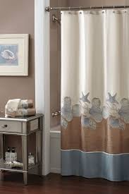bathroom shower curtain decorating ideas seashell bathroom decorating ideas