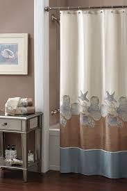 Shower Curtain Design Ideas Seashell Bathroom Decorating Ideas