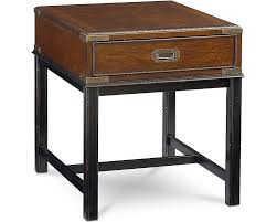 Livingroom End Tables Campaign End Table Living Room Furniture Thomasville Furniture
