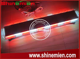 red and white led emergency lights 47 inch amber white led emergency strobe warning recovery light