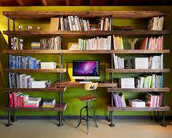 Industrial Pipe Bookcase Industrial Pipe Bookshelf Houzz