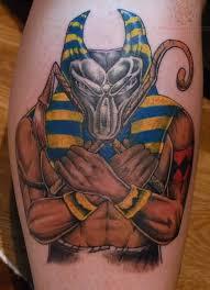 Anubis Tattoo Ideas 52 Egyptian God Anubis Tattoos Collection
