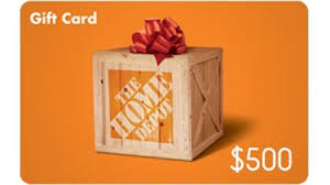 500 gift card free 500 home depot gift card giveaway