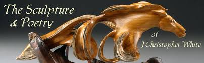 wood sculptures the wood sculpture and poetry of j christopher white