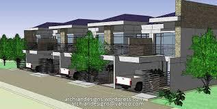 Apartment Building Designs Philippines Interior Design Building Plans Townhouses