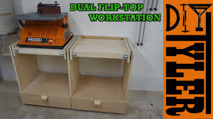 double flip top workstation youtube