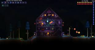 Halloween House Light Show by Image Icecream4free U0027s Spooky Halloween House Jpg Terraria Wiki