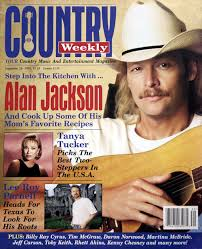country weekly 1995 09 26 step into the kitchen with alan jackson