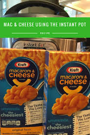 making boxed macaroni in the instant pot u2014easy peasy