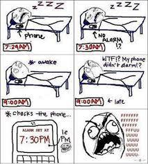 Alarm Meme - my phone didn t alarm alarm funny memes sleeping time so