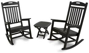 Polywood Outdoor Furniture Reviews by Yacht Club Rocking Chair