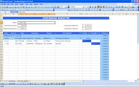 Income And Expenditure Statement Template Excel by Checkbook Register Excel Templates
