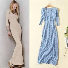 80s sweater dress high quality 80s vintage sky blue knitted dress plunge v neck 3 4
