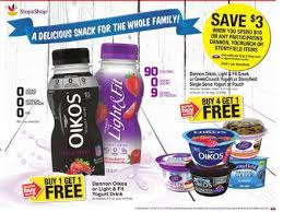 dannon light and fit yogurt drink stop shop giant martin s shoppers free dannon oikos and light