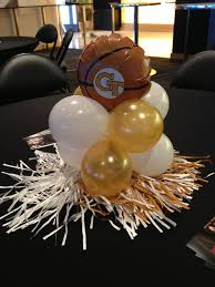 basketball centerpieces tech basketball balloon custom centerpiece balloonacy