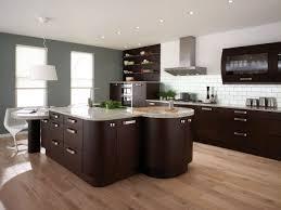 alder wood autumn raised door dark brown kitchen cabinets