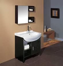 Modern Small Bathrooms Ideas by Small Bathroom Vanity Dark Brown Allen And Roth Vanity With Black
