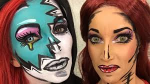 Awesome Makeup For Halloween Awesome Halloween Makeup Youtube