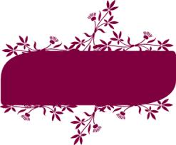 floral banner clip art at clker com vector clip art online