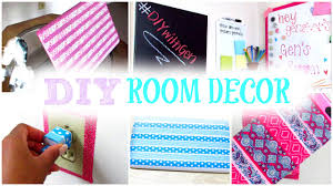 Diy Bedroom Decor by Diy Room Decor Decorate Your Room With Washi Tape Cute Cheap