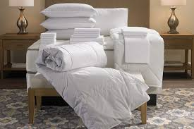 hotel stripe bed u0026 bedding set doubletree at home hotel store