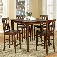 Pub Height Dining Room Sets Steve Silver Furniture Richmond 5 Piece Counter Height Dining Set