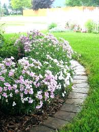Garden Flowers Ideas Diy Edging For Garden Beds Flower Bed Border Garden Design