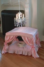 Pink Canopy Bed Bed Pink