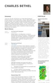 Sample Resume Photo by Architectural Designer Resume Samples Visualcv Resume Samples
