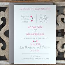 casual wedding invitations casual wedding invitations casual wedding stick figure