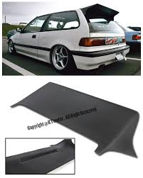 honda civic spoiler brake light amazon com for 88 91 honda civic ef9 3dr hatchback j s racing style