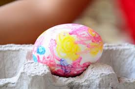 practical mom easter egg activity with melted crayons u0026 markers
