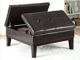 Storage Ottoman Canada Square Leather Ottoman Coffee Table Rankhero Co