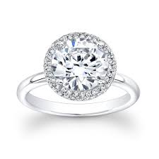 white gold halo engagement rings 18kt white gold halo engagement ring with 2 00