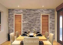 stone wall fireplace interlocking stone panels