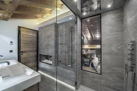 chalet maria courchevel en suite shower room for the master