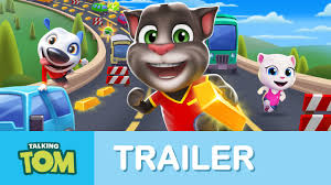 talking tom gold run official launch trailer youtube