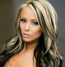 frosted hair color long dark black hair with blonde highlights blonde dark hair