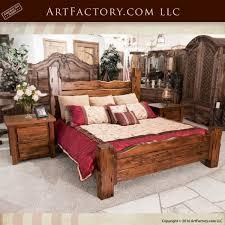 Handcrafted Wood Bedroom Furniture - bedroom furniture custom beds dressers wood iron