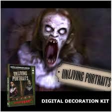 halloween props uk digital halloween decorations projector kit u0026 unliving portraits dvd