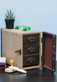 modcloth home decor fest of drawers case modcloth black and brown pinterest