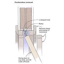 How To Install Interior Door Casing Replacing Pocket Doors Fine Homebuilding