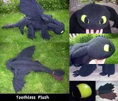 quirky artist loft free pattern toothless dragon plush