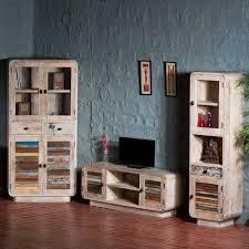 Wohnzimmerschrank Ohne Tv Fach Wohnwand Alagos In Bunt Holz Im Loft Design Pharao24 De