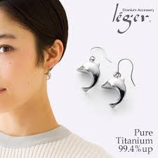 earrings for second titan rakuten global market hypoallergenic titanium earrings