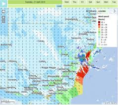 Wind Speed Map Weather Bureau Could Not Forecast Exactly Where Nsw Storm Would