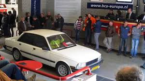 peugeot automatic diesel cars for sale auctioning a peugeot 505 turbo gti 2 2 automatic bca classic car