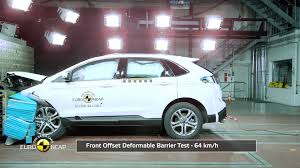 Ford Edge Safety Rating 2016 Ford Edge Crash Tested By Euro Ncap Awarded 5 Stars Overall